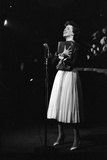 Entertainer Carol Burnett Singing a Comic Song About John Foster Dulles Who She Introduced  1957