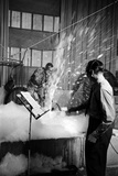 Disney's Jim Mcdonald and Paul Smith on a Sound Effects Stage Creating Sounds  Burbank  CA  1953