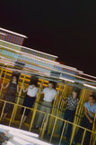 Fairgoers on a 'Round-Up' Spinning Amusement Ride at the Iowa State Fair  Des Moines  Iowa  1955
