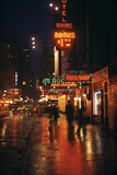 1945: Street Scene Outside of Hotels on East 43rd Street by Times Square  New York  Ny