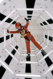 """Actor Keir Dullea Wearing Space Suit in Scene from Motion Picture """"2001: a Space Odyssey"""", 1968 Papier Photo par Dmitri Kessel"""