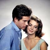 American Actors Warren Beatty and Natalie Wood in their Film 'Splendor in the Grass'  1961