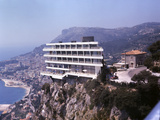 Vistaero Hotel Perched on the Edge of a Cliff Above Monte Carlo  Monaco