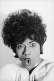 Singer and Musician Little Richard Posing in Mod Fringed Shirt  1971