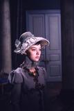 1965: Lyudmila Saveleva as Natasha Rostova Filming a Scene from the Film 'War and Peace'  Russia