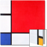 Composition with Red  Yellow and Blue  1930