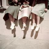 Oakland High School Teenage Girls  Oakland  CA  1950
