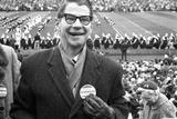 Spectators at the Minnesota- Iowa Game  Minneapolis  Minnesota  November 1960