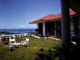 December 1946: Hotel La Citadelle in Port Au Prince  Haiti