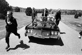 Secret Service Agents in Training  National Aboretum  Washington DC  1968