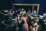 Patrons Dancing in the Blue Derby Jazz Club in Melbourne  Australia  1956