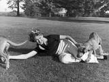 Portrait of Clare Boothe Luce  Fairfield  Connecticut  1936