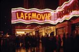 1945: Laff Movie Theater at 236 West 42nd Street Manhattan  New York  NY