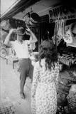 US Cpl James C Farley of Yankee Papa 13 Trying on Bush Hats  Danang  Vietnam 1965