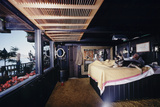 Floating-Home Owner Warren Owen Fonslor in His Bedroom  Sausalito  CA  1971
