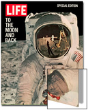 To the Moon and Back  Reflections on Astronauts Facemask  August 11  1969