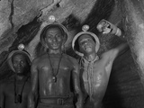 Gold Miners in Robinson Deep Diamond Mine Tunnel  Johannesburg  South Africa  1950