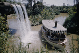 July 17 1955: Disneyland's Jungle Cruise Featuring Audio-Animatronics Animals  Anaheim  California