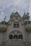 Children Looking Out from Sleeping Beauty Castle Anaheim  California 1955