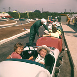 July 17 1955: Children Enjoying Disneyland's Autopia Car Ride  Anaheim  California