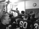 Players and their Coach  Murray Warmath  Minnesota-Iowa Game  Minneapolis  November 1960