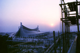 Sunrise at the Yoyogi National Gymnasium  1964 Tokyo Summer Olympics  Japan