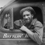 Portrait of Us Army Ambulance Driver Ea Nashlund (Of Portland  Oregon)  Ledo Road  Burma  July 1944