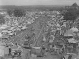 Five Million Indians Flee Shortly after the Newly Created Nations of India and Pakistan  1947