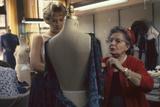 Senior Fashion Designer Pauline Fraccia (Right)  of R&K Originals  New York  New York  1960