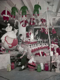Bliss Display Corporation Employees Create Holiday Decorations in a Warehouse  New York  NY  1958