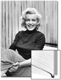Actress Marilyn Monroe at Home