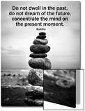 Buddha Focus Quotation Motivational Poster