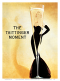 The Taittinger Moment - Champagne Advertisement featuring actress Grace Kelly
