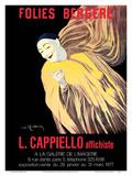 Folies Bergère - Art Exhibition of Leonetto Cappiello Posters - Mime Severin (1863-1930)