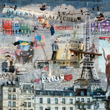 Les peintres de graffitis: Paris Acrylique par Maïlo / M-L Vareilles