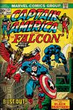 Marvel Comics Retro Style Guide: Falcon  Captain America