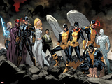 All-New X-Men No 1: Beast  Grey  Jean  Cyclops  Iceman  Angel  Magneto  Magik  Frost  Emma