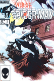 Web Of Spider-Man No1 Cover: Spider-Man Crouching