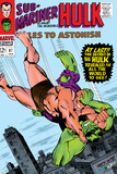 Tales to Astonish No87 Cover: Hulk and Humanoid