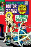 Strange Tales No158 Cover: Dr Strange and Living Tribunal