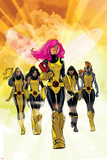 X-Men: Pixie Strikes Back No1 Cover: Pixie  X-23  Blindfold  Armor and Mercury