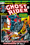 Marvel Spotlight Ghost Rider No5 Cover: Ghost Rider