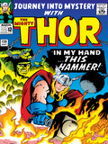 Marvel Comics Retro: The Mighty Thor Comic Book Cover No120  Journey into Mystery; This Hammer