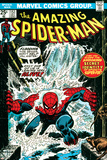 Marvel Comics Retro: The Amazing Spider-Man Comic Book Cover No151  Flooding