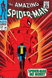 Marvel Comics Retro: The Amazing Spider-Man Comic Book Cover No50  Spider-Man No More!