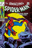 Marvel Comics Retro: The Amazing Spider-Man Comic Book Cover No70  Wanted!