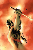 Drax The Destroyer No3 Cover: Drax The Destroyer Fighting