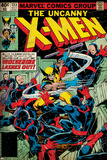 Marvel Comics Retro: The X-Men Comic Book Cover No133  Wolverine Lashes Out (aged)
