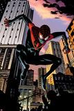 Ultimate Comics Spider-Man No7: Spider-Man Jumping