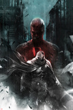 Shadowland: Moon Knight No1 Cover: Moon Knight and Daredevil Walking